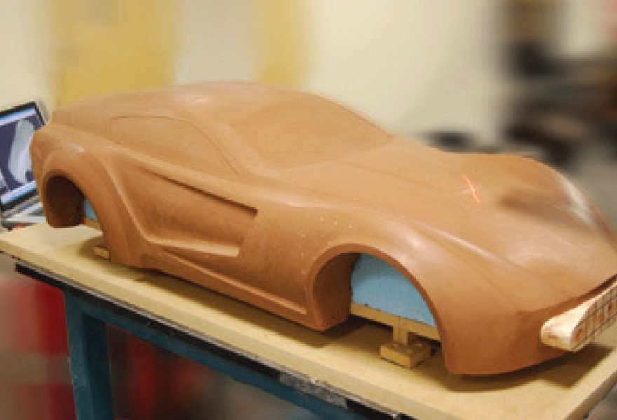 3D Scanners help Mdes transport design student
