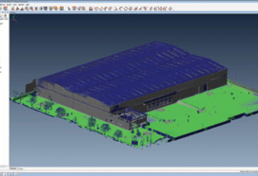 3D Scanners provide 3D model for Spaceplanning