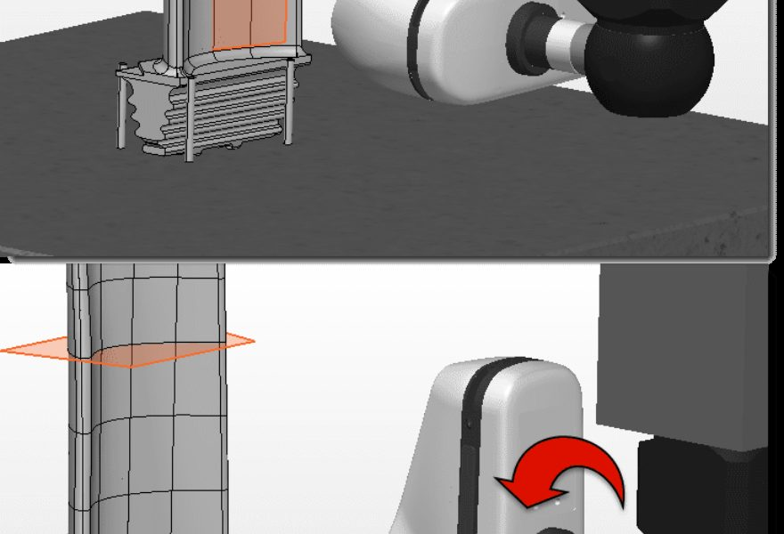 Use PEM Tool Extensions to Properly Orient CNC CMM Scanners