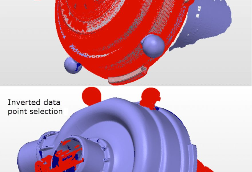 Quickly Clean Scan Data Using CAD Model