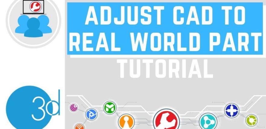 Adjust CAD to Real World Part in PolyWorks® Modeler