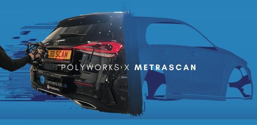 PolyWorks® x Metrascan - 3D Scanning Mercedes Benz A Class A 200